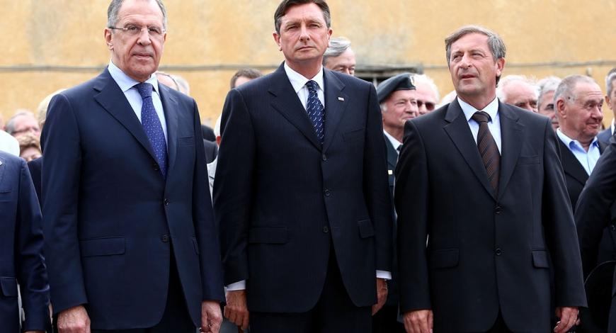 Obisk zunanjega ministra Ruske federacije Sergeja Lavrova