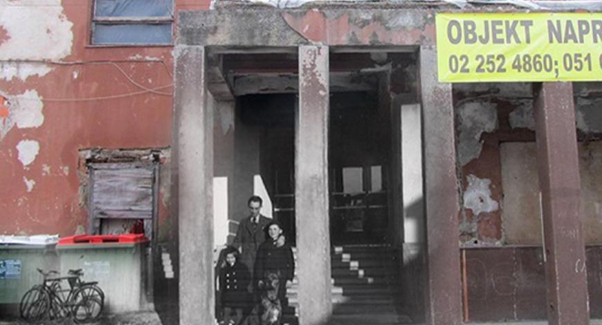 Melje v prvi polovici 20. stoletja: zgradbe in njihove zgodbe
