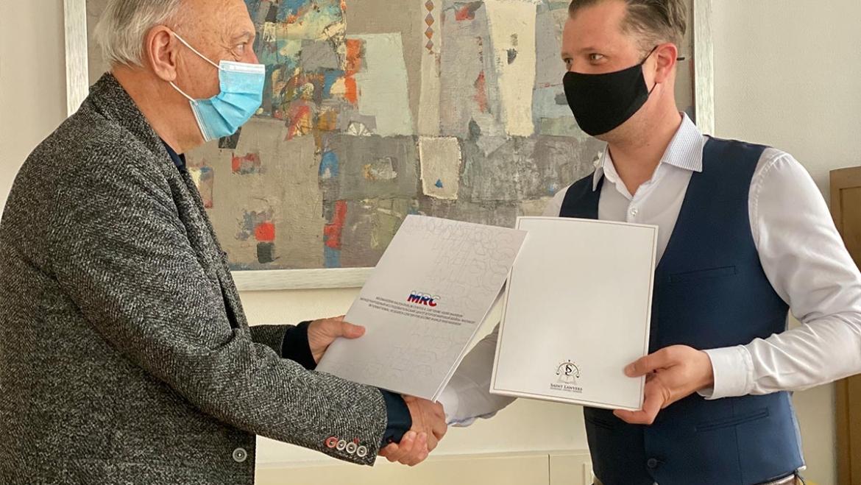 Podpis memoranduma o sodelovanju MRC Maribor in MFSP