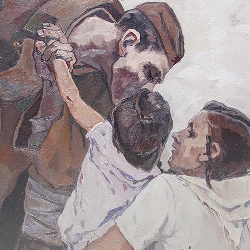 Открытие выставки «Хроника войны»