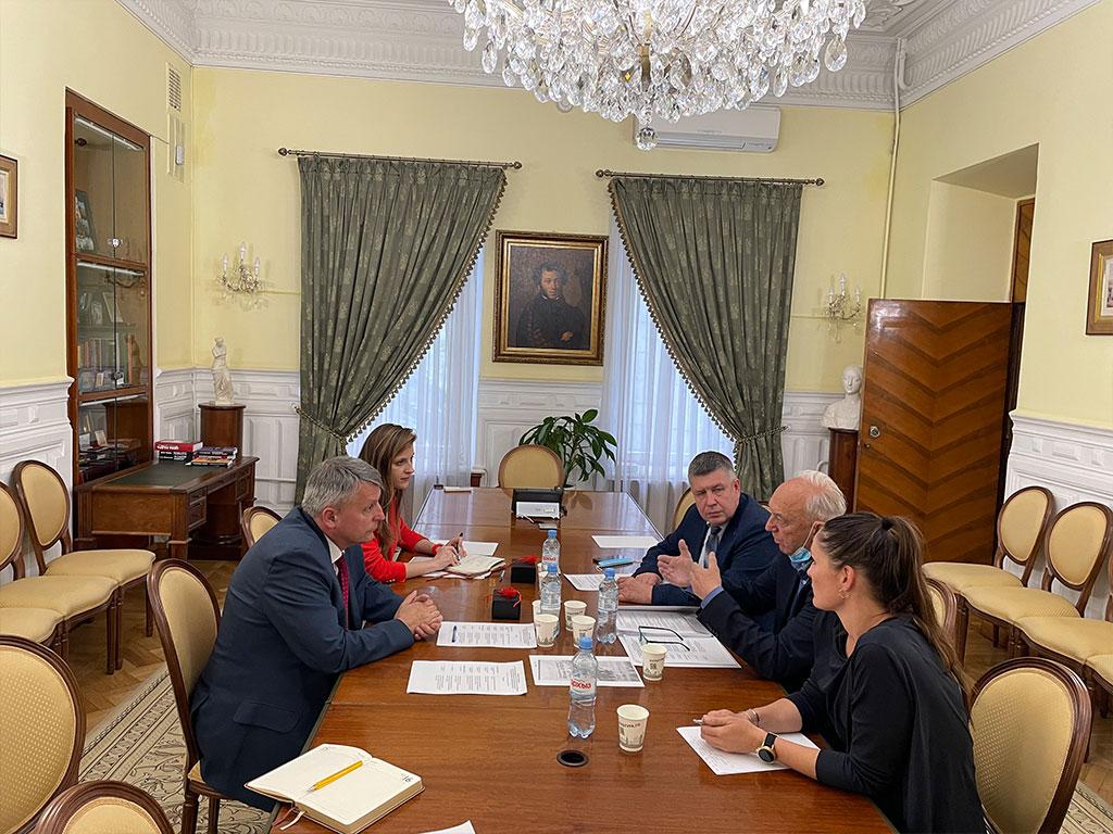 МИЦ Марибор в Москве в Министерстве культуры России