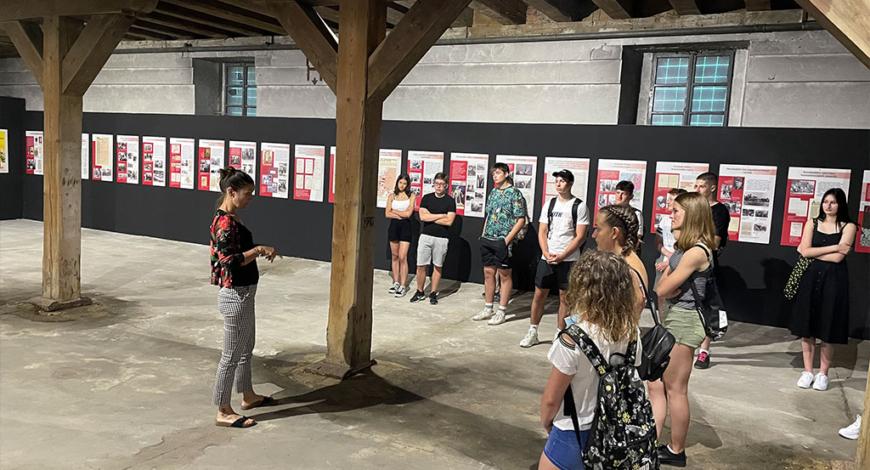 Obisk dijakov Prve gimnazije Maribor