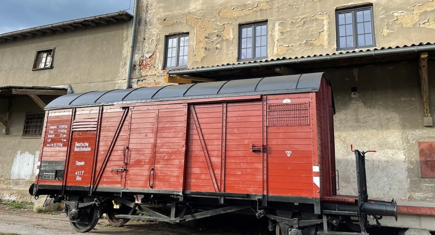 """Invitation to event """"Ignored Victims of Nazism"""" and the opening of """"The Train of Memory"""""""
